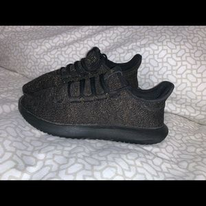 adidas tubular black and glitter